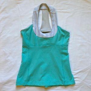 Lululemon scoop neck tank with bra